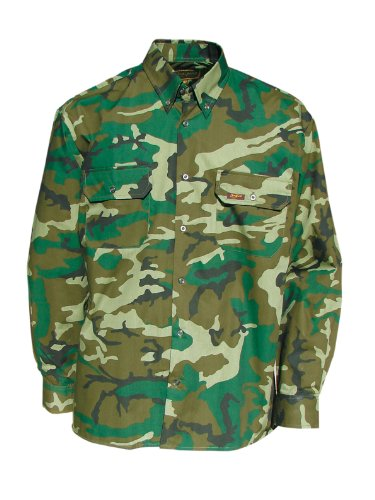BeniSport Chemise à manches longues, camouflage