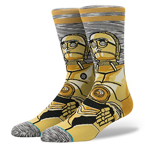 Stance x Star Wars Android Socks Gray L