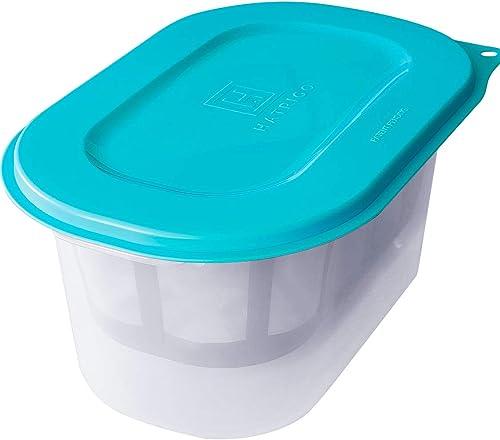 Hatrigo 2-Quart (Half-Gallon) Greek Yogurt Maker with Stainless Steel Strainer, BPA-Free Greek Yogurt Strainer, Make Thick Creamy Greek Yogurt in Hours, Great for Instant Pot Yogurt (12 x 8 x 6 in) product image