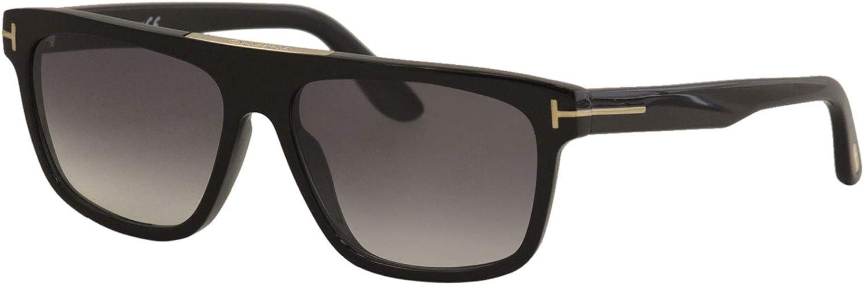 Sunglasses Tom Ford FT 0628 Cecilio- 02 01B shiny black/gradient smoke, 57-15-145