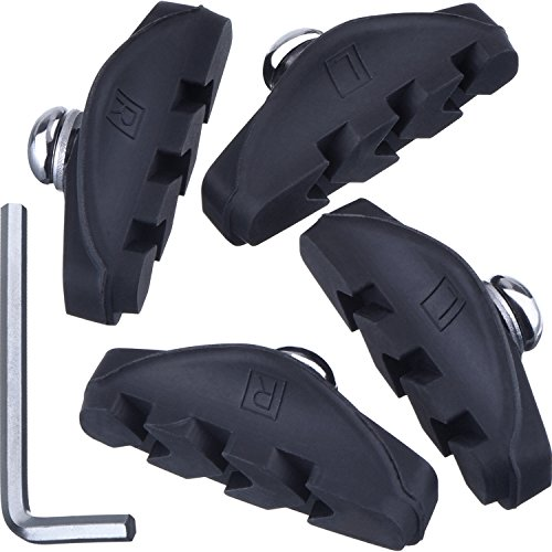 Road Brake Pads with Installation Tool Caliper Brake Blocks 50 mm (2 Pairs)
