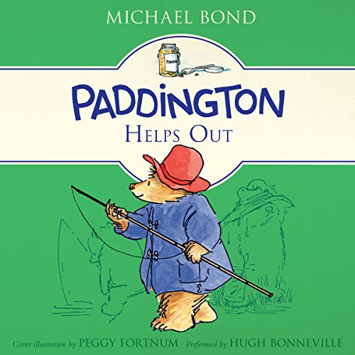 Paddington Helps Out audiobook cover art