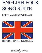 English Folk Song Suite Concert Band/Harmonie-Partition+Parties Separees