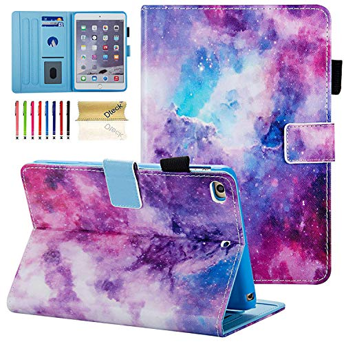 iPad Mini Case, Dteck Slim Fit [Photo Frame & Stylus Slot] Multi-Angle View Stand PU Leather Case with Auto Wake/Sleep Feature Smart Cover for Apple iPad Mini 1/2/3/4/5, Galaxy
