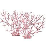 Vipithy Planta de decoración de Acuario de Coral Artificial Corales de Acuario