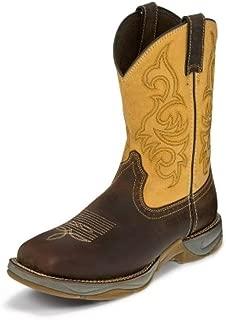 Tony Lama Men's Junction Dusty Steel Toe 11 Height (RR3350)