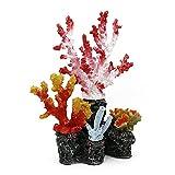 SASAU Acuario Decoraciones Nuevo Acuario decoración Accesorios Grande Resina Arrecife Coral Plantas Pescado Tanque de Pescado paisajismo Exquisito Ornamentos acublador decoración Regalo