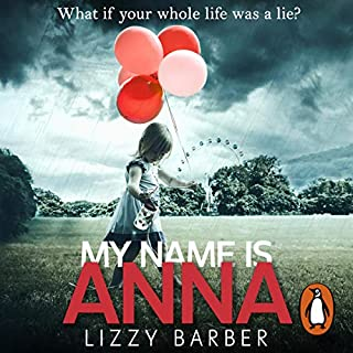 My Name Is Anna                   De :                                                                                                                                 Lizzy Barber                               Lu par :                                                                                                                                 Julie Rogers,                                                                                        Tamaryn Payne                      Durée : 9 h et 18 min     Pas de notations     Global 0,0