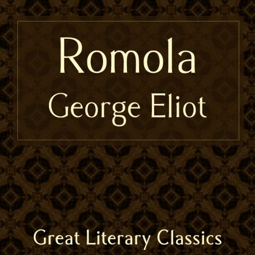 Romola audiobook cover art