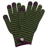 [エヴォログ] 手袋 LET 2313 メンズ BROWN×GREEN 日本 Free-(FREE サイズ)