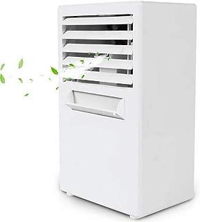3 Velocidades Mini Enfriador De Aire,Acondicionados Móviles Climatizador Evaporativo Humidificador USB Table Fan para Hogar Oficina Acampada