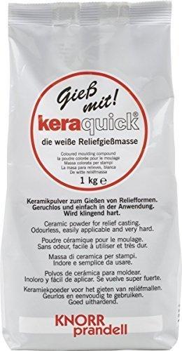 wei/ß Knorr Prandell 212160500 Knorr prandell 212160500 keraquick light Gie/ßmasse 1000 g