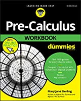 Pre-Calculus Workbook For Dummies, 3rd Edition Front Cover