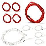 H HILABEE 2x HT-NTC100K Thermistor Temperature Sensor With 2m Cable For 3D Printer
