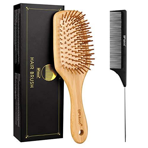 BFWood Brosse à cheveux bambou p...