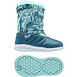 adidas Dy Frozen Rapidasnow I, Zapatillas de Estar por casa Unisex niños, (Petnoc/Aquene/Ftwbla), 20 EU