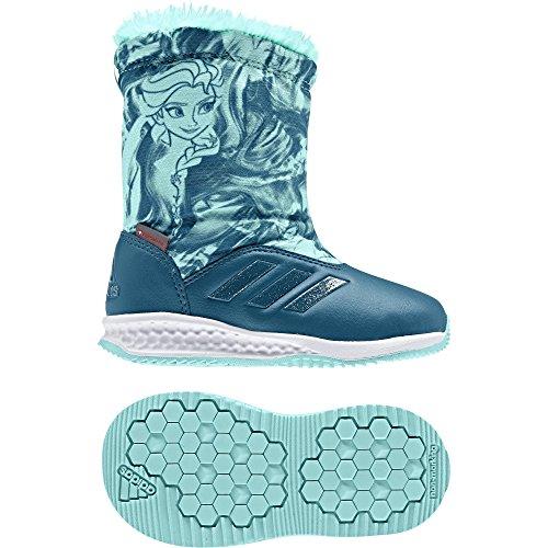 adidas Dy Frozen Rapidasnow I, Zapatillas de Estar por casa Bebé Unisex, (Petnoc/Aquene/Ftwbla), 20 EU