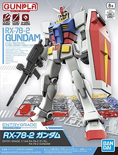 Bandai Hobby - Mobile Suit Gundam - 1/144 RX-78-2 Gundam, Bandai Spirits Entry Grade