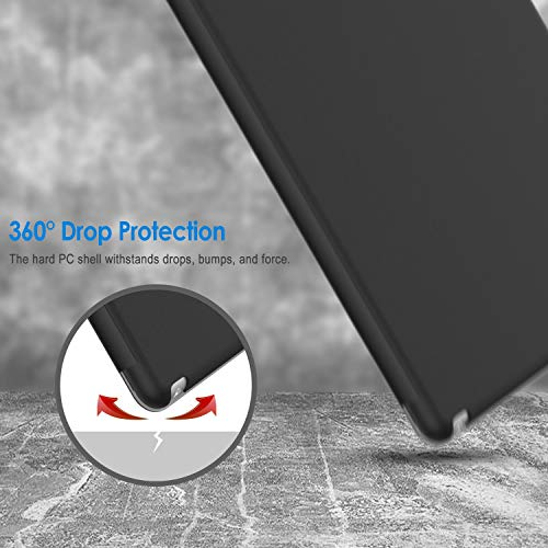 『JEDirect iPad mini 1 2 3 ケース 三つ折スタンド オートスリープ機能 (ブラック)』の5枚目の画像