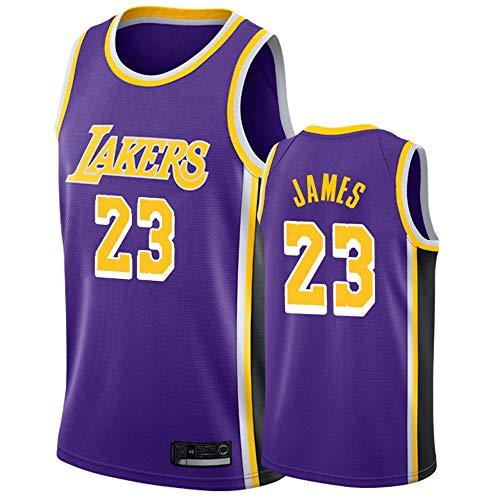 Herren Jersey NBA Lakers 23# James Jersey Mesh Basketball Swingman Jersey