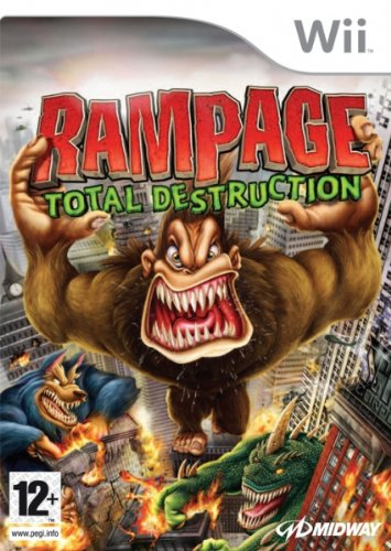Midway Rampage: Total Destruction, Wii
