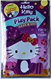 Hello Kitty Halloween Play Packs for Kids ~ Bundle of 6 Hello Kitty Trick-or-Treat Play Packs with Stickers, Coloring Book, and Crayons (Hello Kitty Party Supplies)