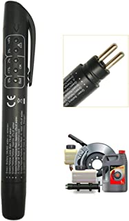 Brake Fluid Tester, Black Liquid/Oil Moisture Analyzer with 5 LED Indicators, Auto Brake Diagnostic Testing Tool for DOT3 DOT4 Brake Fluid