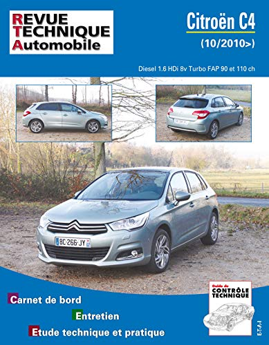 E.T.A.I - Revue Technique Automobile B759 - CITROEN C4 II - 2010 à 2015 - Diesel