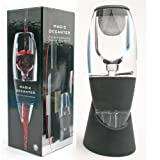 PACKNBUY Wine Decanter Aerator Pourer Set with Bottle Opener