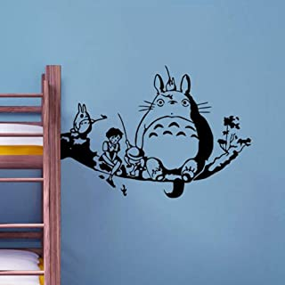Wall Decal Sticker Mural Vinyl Arts and Sayings Mural Art My Neighbor Totoro Wall Decal Film Art Character Vinyl Wall Sticker Kids Room Decor Removable