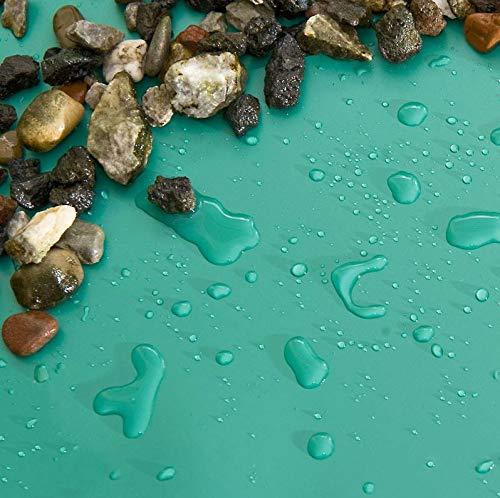NORDFOL 10,99€/m² Teichfolie Patina/anthrazit PVC -P 1,5mm stark - Wunschmaß Folie auf Anfrage möglich (PVC-P, 5m x 4m)