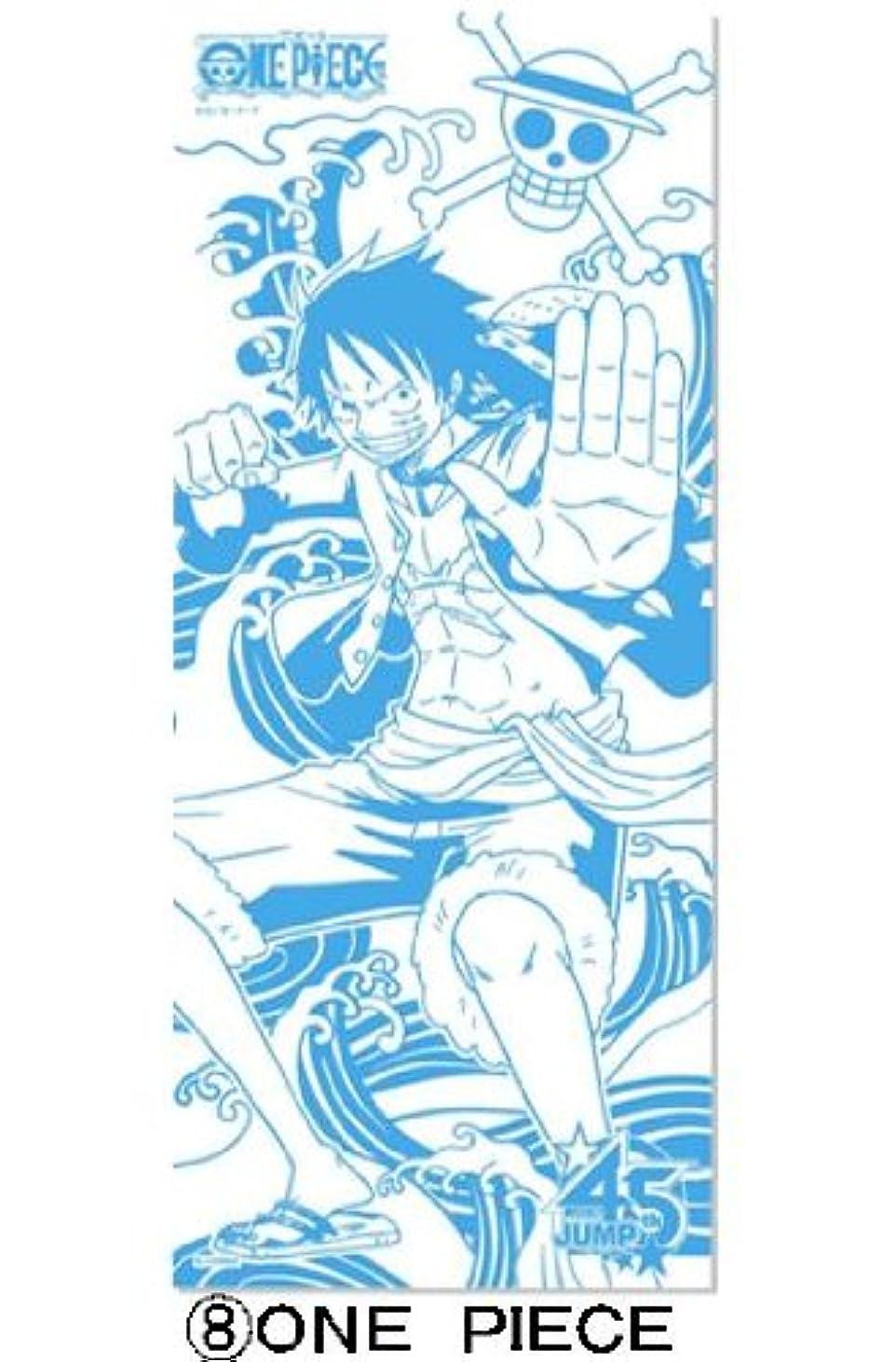 砲撃スリッパ開発する週刊少年ジャンプ45周年記念J-STARS ミニ手ぬぐい付き入浴剤(ワンピース)