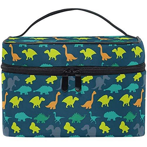 Toilettas voor op reis, coole dinosaurus, toiletartikelen, make-uptas, tas, draagtas, organizer, opberg-4T0-F8JP