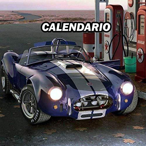 Vintage Ac Cobra Calendario 2021 Agenda settimanale Taccuino