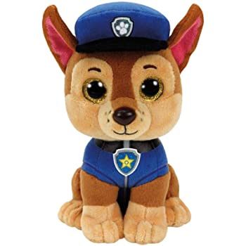 Ty Paw Patrol Chase Cane Peluches Giocattolo 127, Multicolore, 8421412082