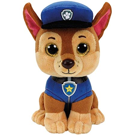 Ty - TY41208 - Pat' Patrouille - Peluche Chase 15 cm