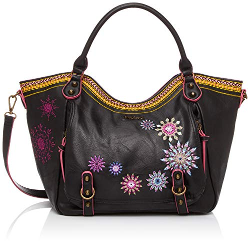 Desigual Ada Rotterdam Shoulder Bag Marron Oscuro