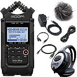 Zoom H4n Pro Enregistreur portable Noir + kit d'accessoires APH-4n PRO + casque Keepdrum
