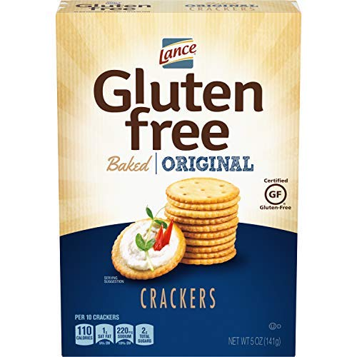 Lance Gluten Free Baked Crackers, Original, 5 Ounce (Pack of 4)-SET OF 2