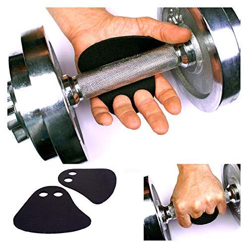 EASYGRIP™Fitness Grip Pads - hochwertige Neopren Griffpads zum Schutz vor Hornhaut an den Händen. Workout, Bodybuilding, Fitness, Homeworkout. Die Alternative zu Trainingshandschuhen. (Schwarz)
