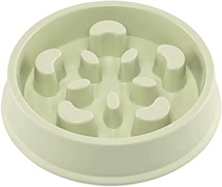 Upsky Slow Feeder Dog Bowl Fun Feeder No Chocking Slow Feeder Bloat Stop Dog Cat Food Water Bowl with Funny Pattern