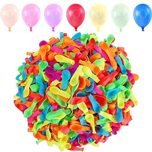 Wasserbomben Luftballons, Wasserbomben, 1000 Wasserballons, Water Balloons, Wasserluftballon, Wasserballons für Kinder Erwachsene