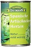 Artischoken Herzen Natur mild würzig 3er pack (3*240g) set mit 720g
