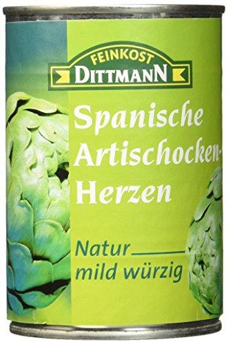 Feinkost Dittmann Spanische Artischocken-Herzen Natur