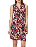 Morgan Robe en Maille imprimée RGREY Casual Dress, Multico, T42 Womens