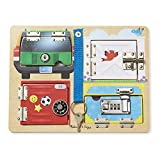 Melissa & Doug Locks & Latches Board Wooden Educational Toy (Sturdy...