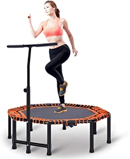 JGWHW Exercise Fitness Trampoline Home Workout Cardio Training Indoor Rebounder for Kids and Adults