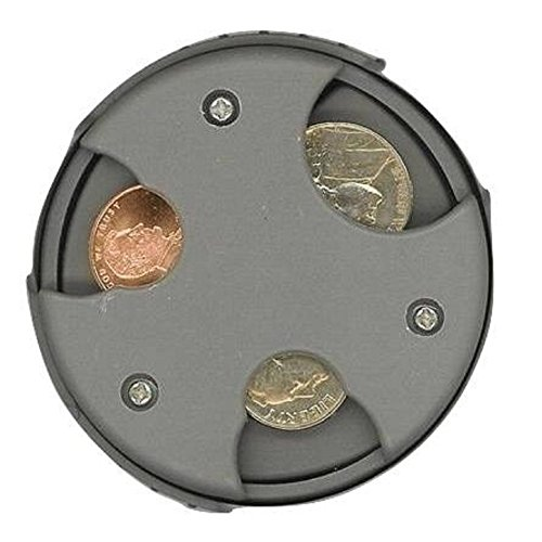 COIN MATE Pocket Organizer Change Holder – Great Gifts for Mens Wallet, Womens Purse, Double Sided Slots for U.S…