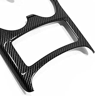 USNASLM for Auto Styling Console Central Front Water Cup Holder Trim Fit for Nissan Qashqai J11 2014-2019 Carbon Fiber ABS