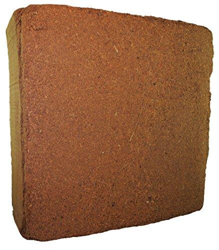 MagJo Naturals Compressed 100% Pure Coco Fiber Peat 11-Pound Block, Medium